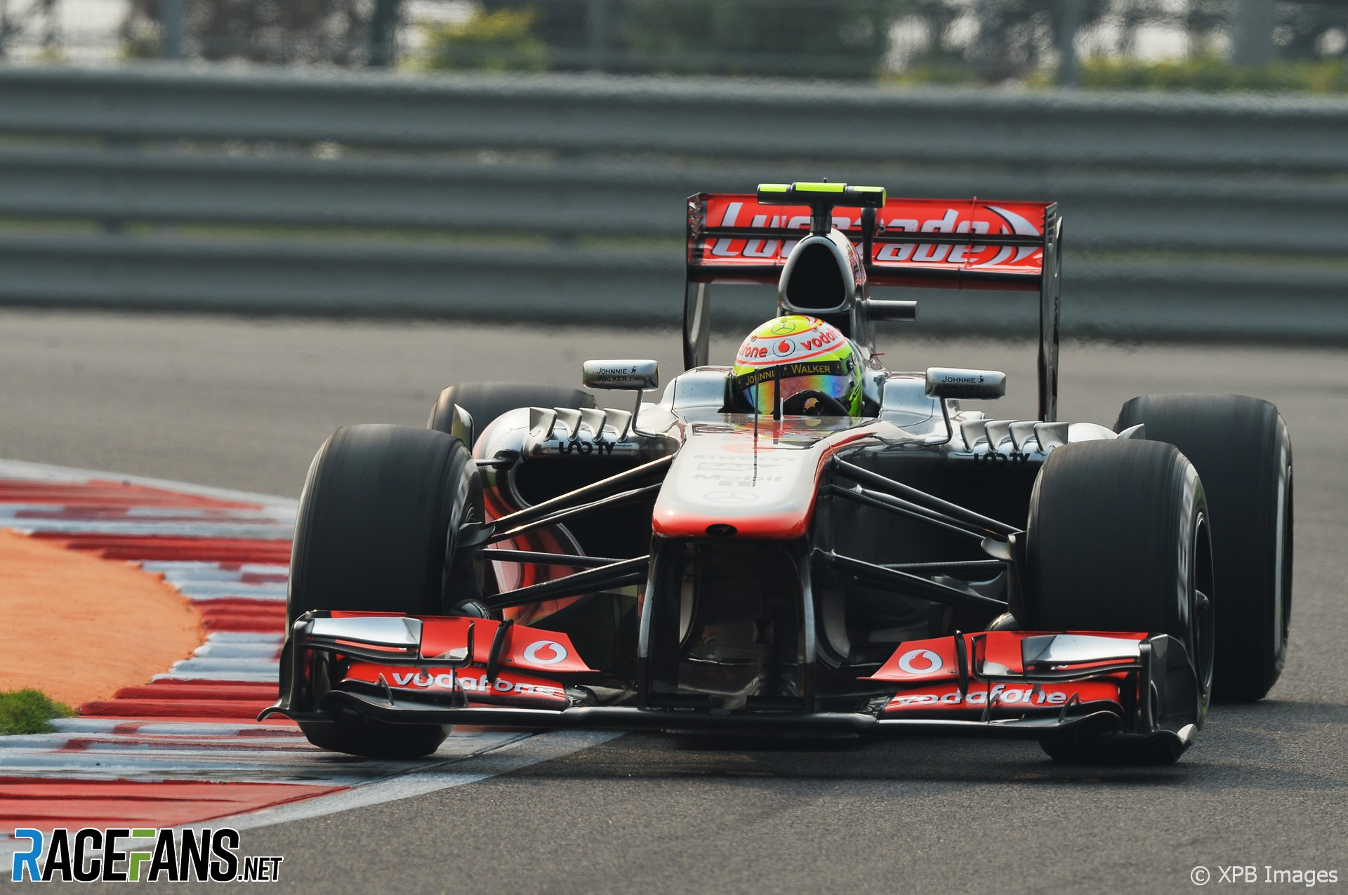 Sergio Perez, McLaren, Buddh International Circuit, 2013
