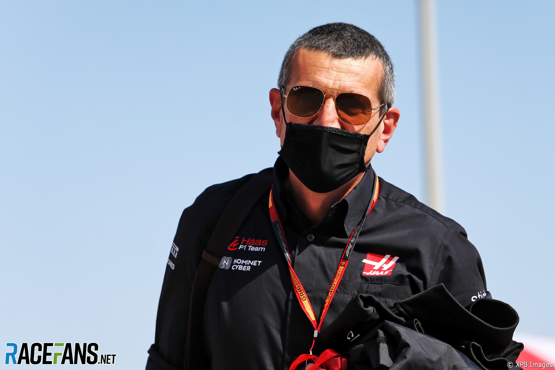 Guenther Steiner, Haas, Bahrain International Circuit, 2020