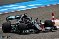 Mercedes almost a second ahead as Hamilton leads first practice