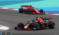 Verstappen leads Mercedes pair in final practice at Bahrain