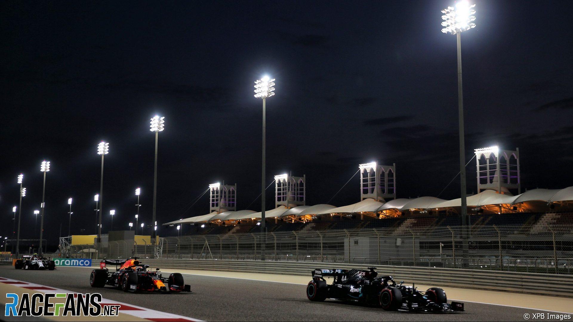 Lewis Hamilton, Mercedes, Bahrain International Circuit, 2020