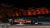 Norris frustrated as error leaves him behind Renaults