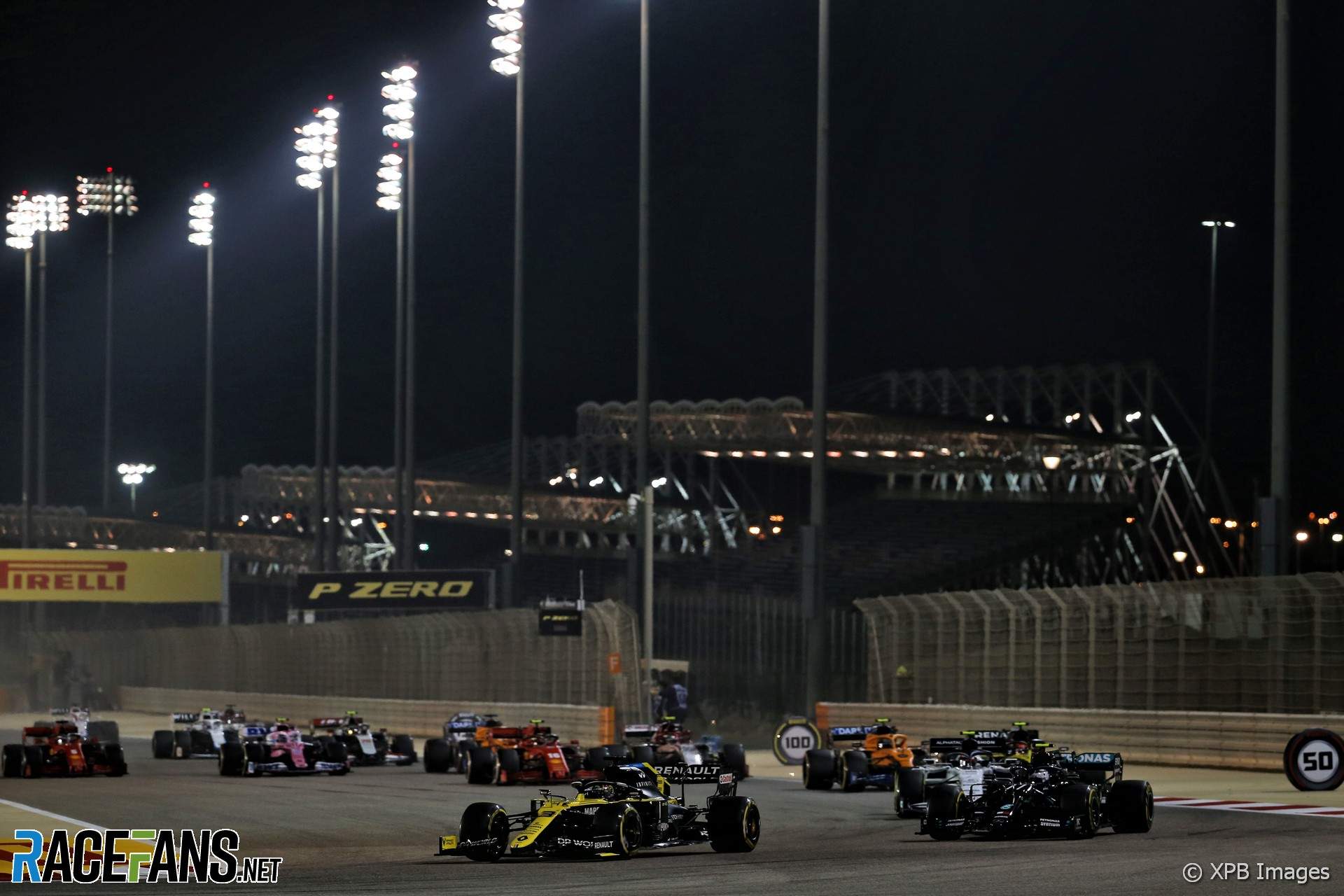 Start, Bahrain International Circuit, 2020