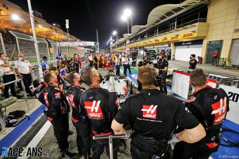 Haas, Bahrain International Circuit, 2020