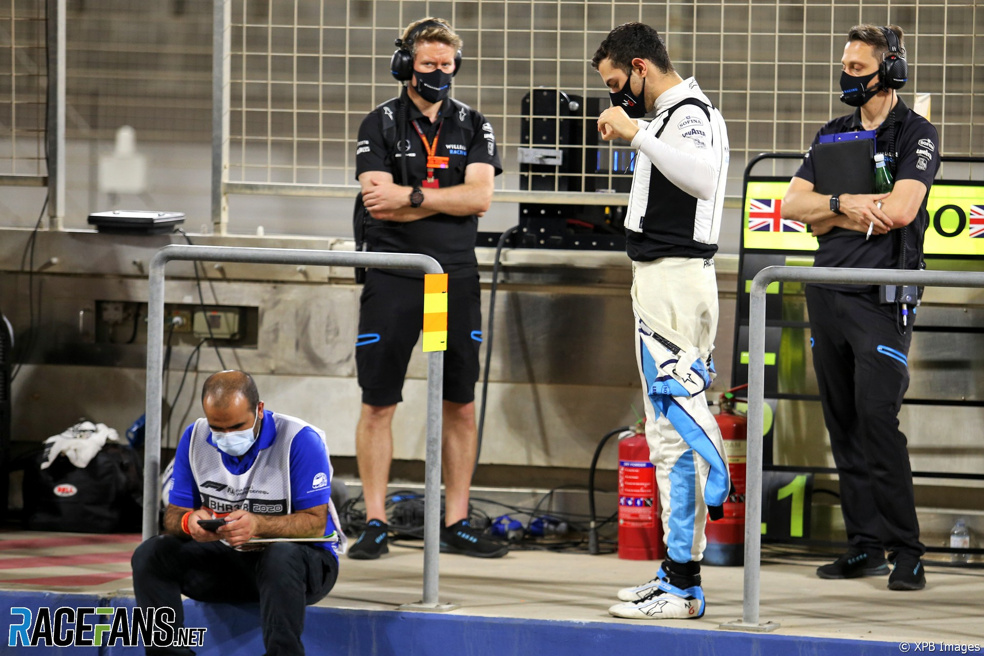 Nicholas Latifi, Williams, Bahrain International Circuit, 2020