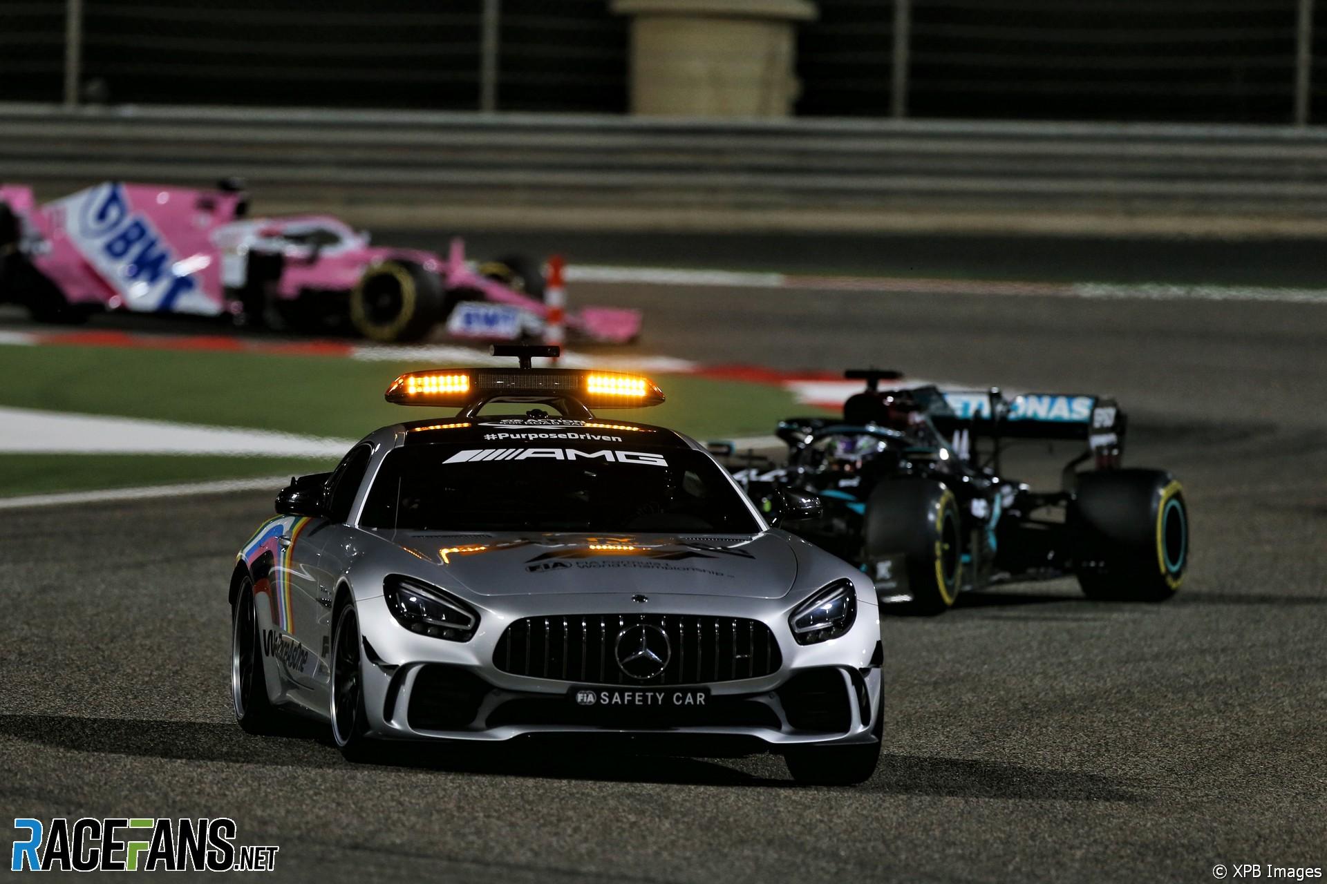 Safety Car, Bahrain International Circuit, 2020