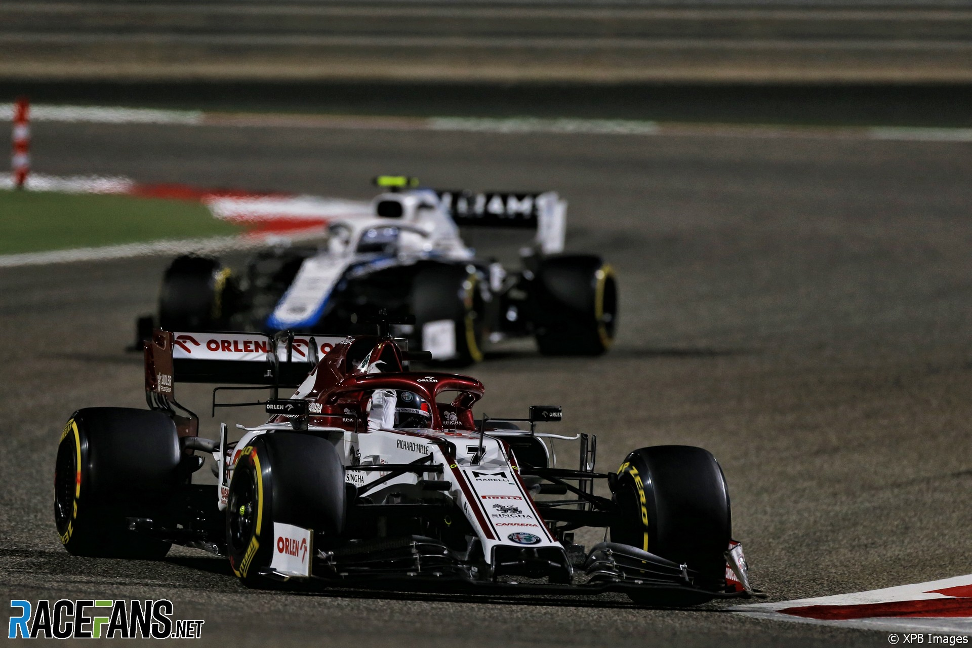 Kimi Raikkonen, Alfa Romeo, Bahrain International Circuit, 2020