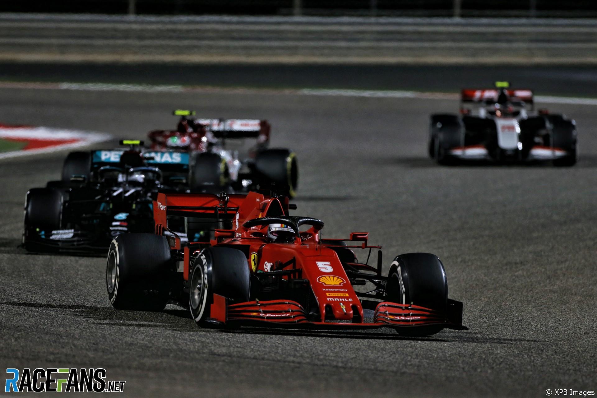 Sebastian Vettel, Ferrari, Bahrain International Circuit, 2020