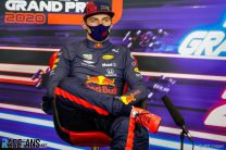 I'd kick out a driver who refused to race after a crash – Verstappen