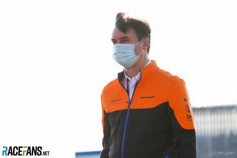 James Key, McLaren, 2020