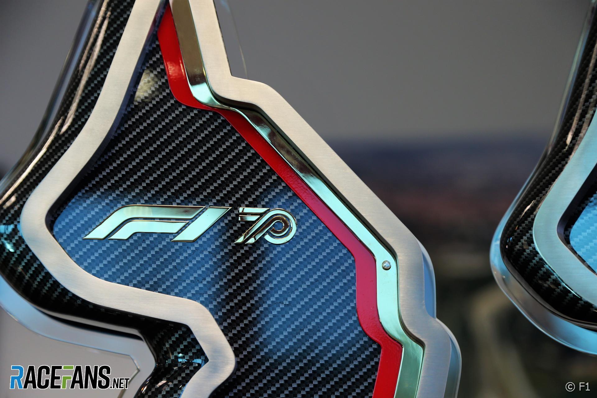 2020 Emilia-Romagna Grand Prix trophy
