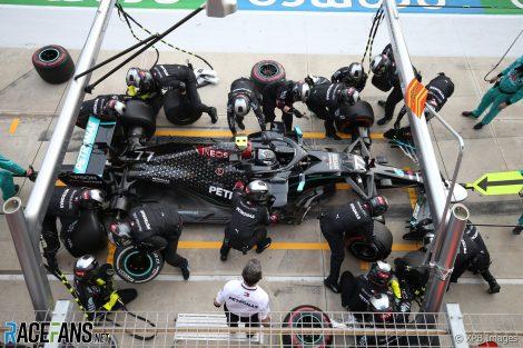 Mercedes retrieve Ferrari debris from Bottas's car