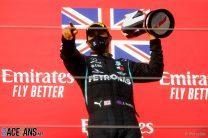 Hamilton's seventh title awaits after debris derails Bottas's victory bid