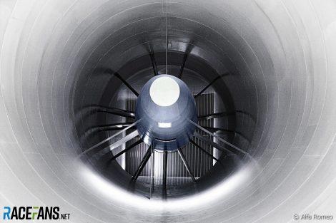 Sauber wind tunnel