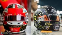 Leclerc and Norris reveal special Bahrain GP helmets