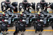 Debris cost Bottas up to eight tenths of a second per lap