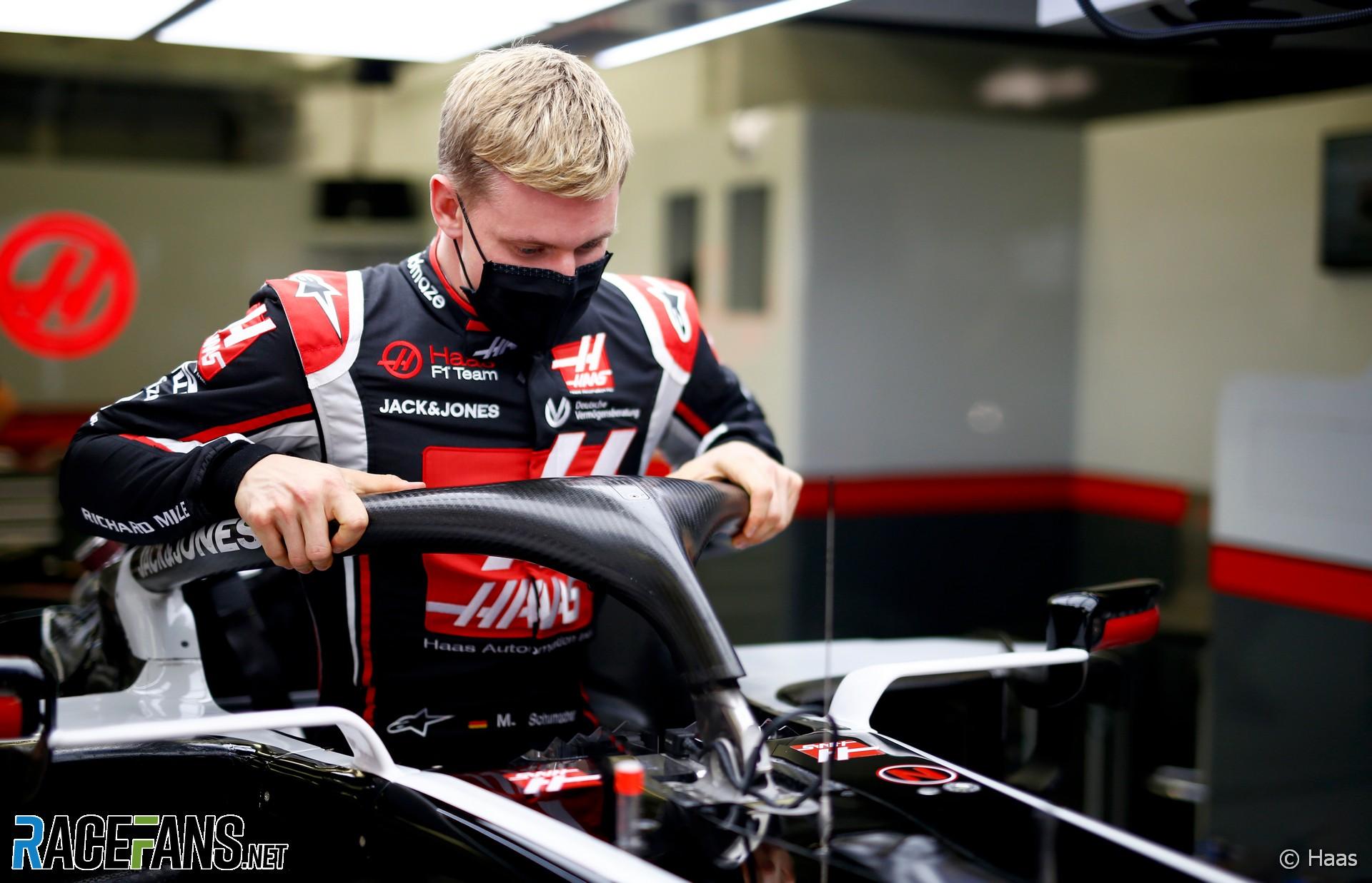 Mick Schumacher, Haas, Bahrain International Circuit, 2020
