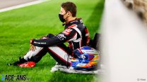 How Grosjean's helmet helped keep him alive in Bahrain fireball crash