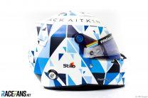Jack Aitken's helmet, Bahrain International Circuit, 2020