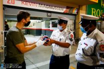 """Thank you for saving my life"" Grosjean tells crash scene marshals"