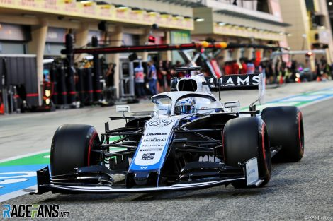 Jack Aitken, Williams, Bahrain International Circuit, 2020