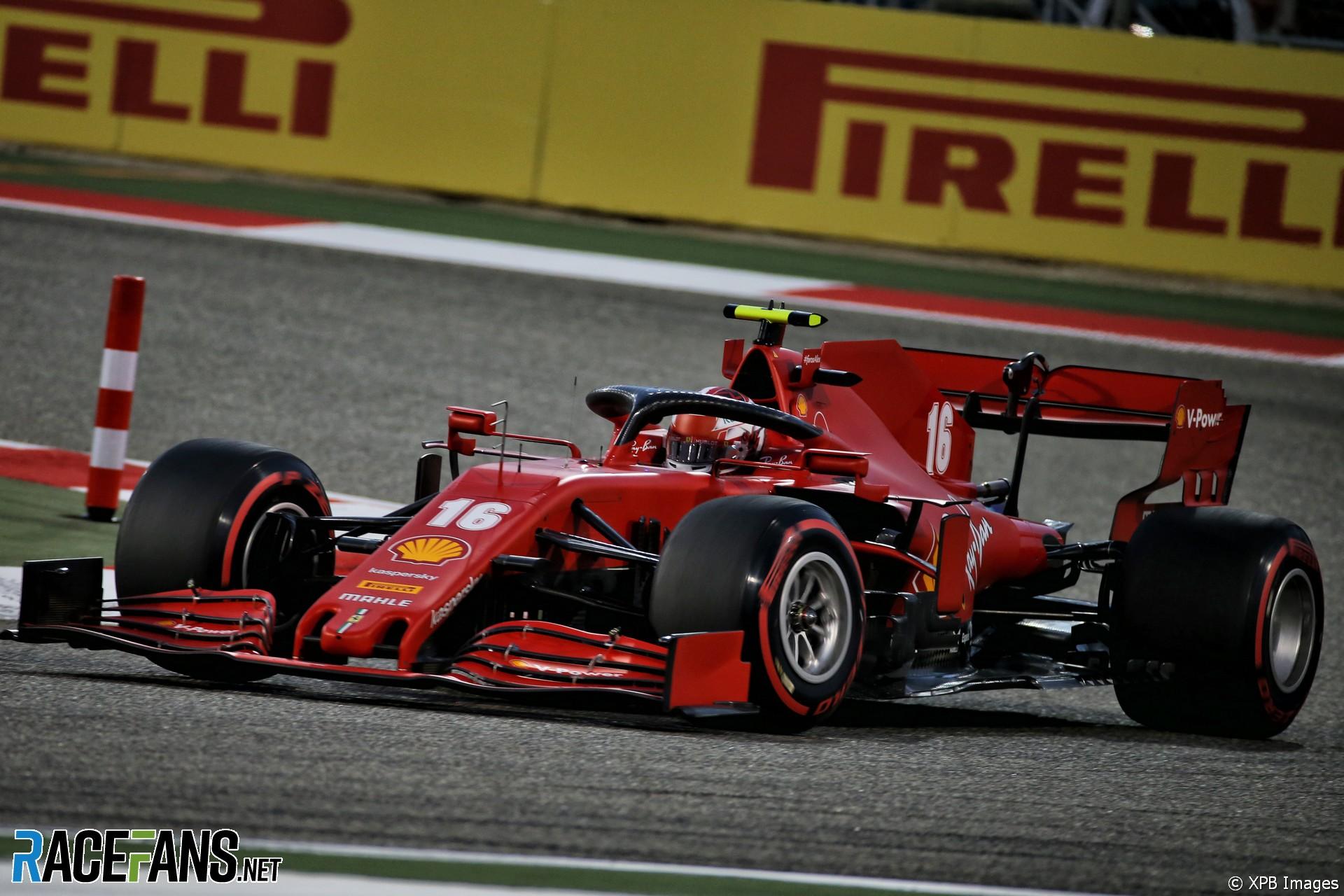 Charles Leclerc, Ferrari, Bahrain International Circuit, 2020
