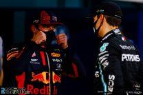 Max Verstappen, George Russell, Bahrain International Circuit, 2020
