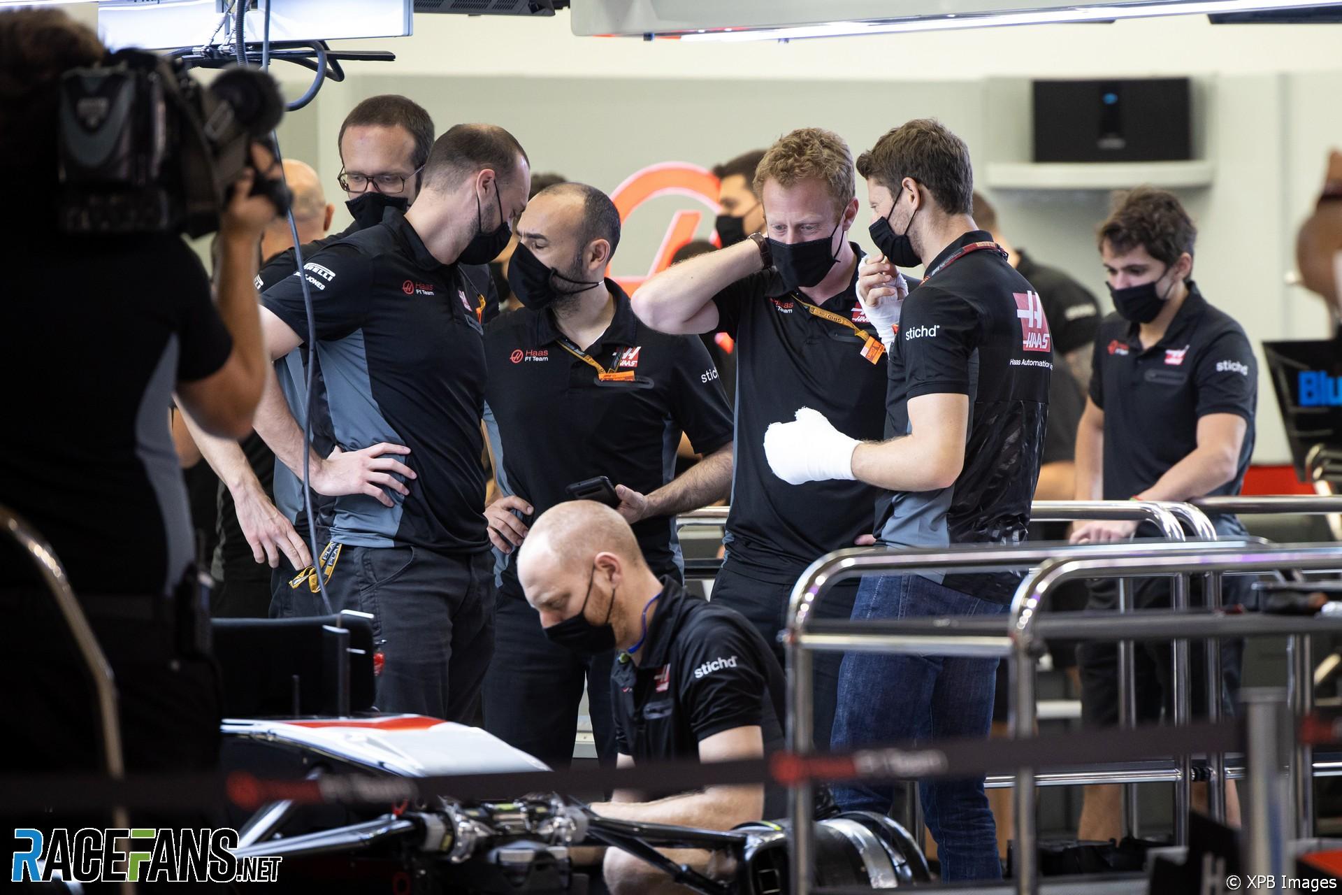 Romain Grosjean, Haas, Bahrain International Circuit, 2020