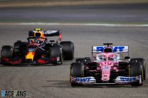 Perez says he could have kept Russell behind after taking first win