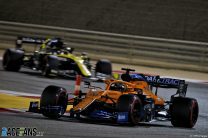 Carlos Sainz Jnr, McLaren, Bahrain International Circuit, 2020