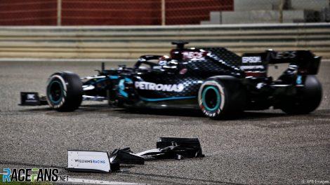 George Russell, Mercedes, Bahrain International Circuit, 2020