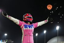Sergio Perez, Racing Point, Bahrain International Circuit, 2020