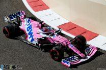 Sergio Perez, Racing Point, Yas Marina, 2020