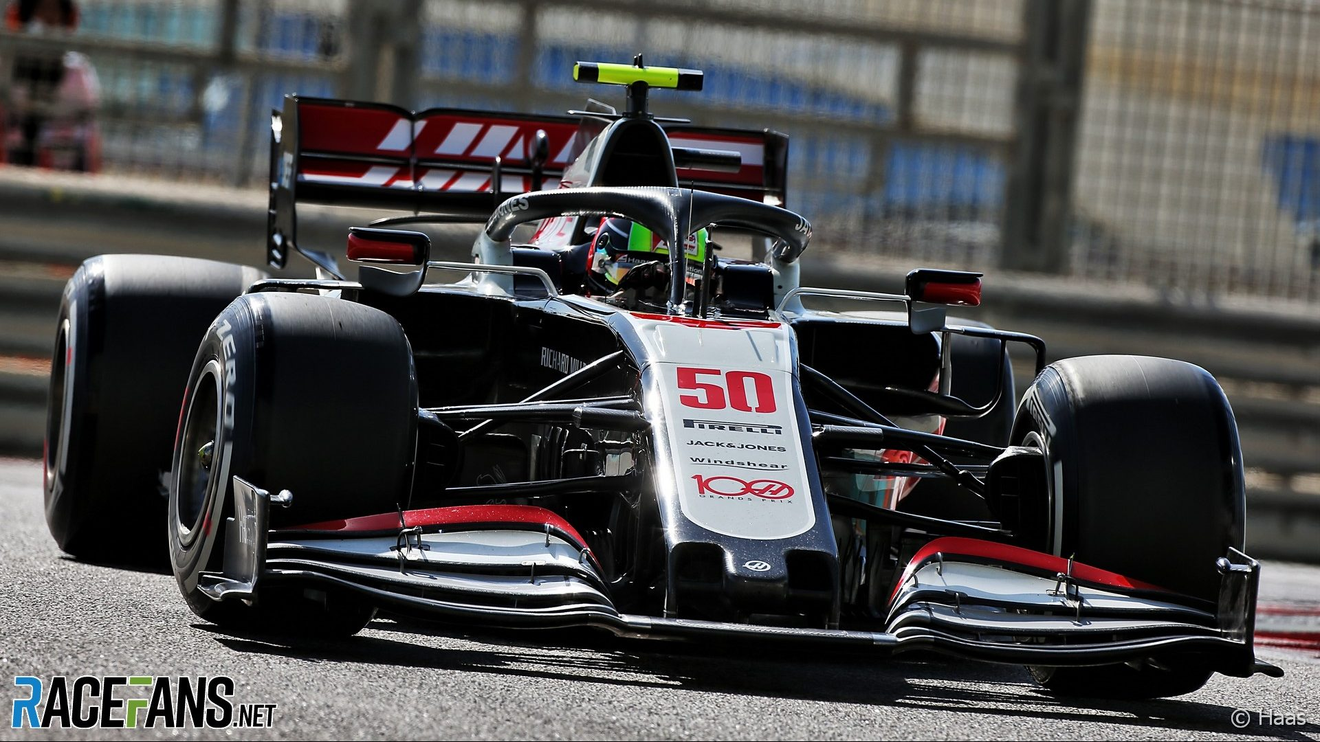 Mick Schumacher, Haas, Yas Marina, 2020