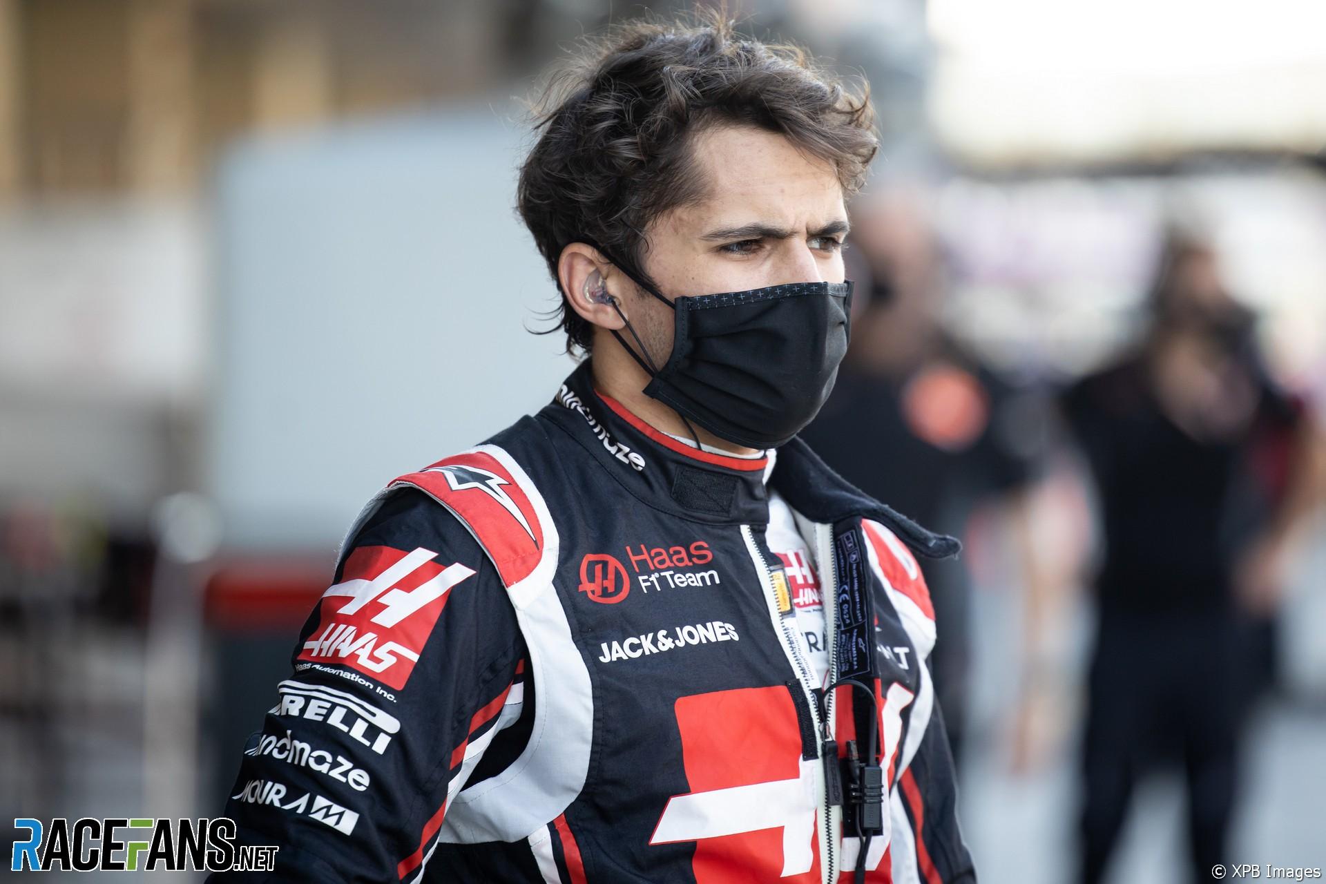 Pietro Fittipaldi, Haas, Yas Marina, 2020