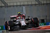 Antonio Giovinazzi, Alfa Romeo, Yas Marina, 2020