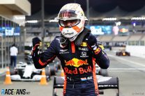 Verstappen stuns Mercedes by seizing pole for season finale