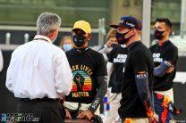 Lewis Hamilton, Mercedes, Yas Marina, 2020