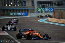 Carlos Sainz Jnr, McLaren, Yas Marina, 2020