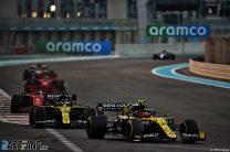 Esteban Ocon, Renault, Yas Marina, 2020