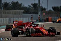 Sebastian Vettel, Ferrari, Yas Marina, 2020