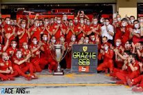 """Ferrari hail """"outstanding professional"""" Vettel after his final drive for team"""