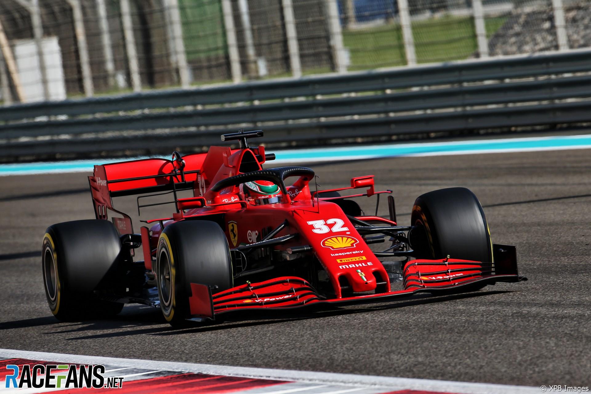 Antonio Fuoco, Ferrari, Yas Marina, 2020