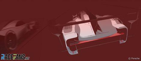Porsche LMDh design concept