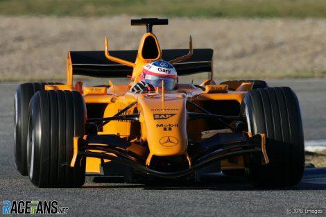 Gary Paffett, McLaren, Jerez, 2006