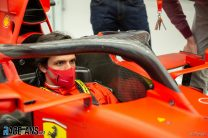 """""""It's a day I will never forget"""": Sainz begins life at Ferrari"""