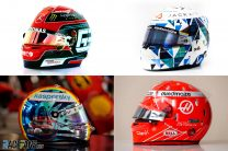 Pictures: Russell, Aitken, Vettel and Fittipaldi's Sakhir GP helmets