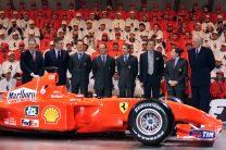 Ferrari F2001 launch