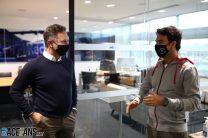 Christian Horner, Sergio Perez, Red Bull, 2021
