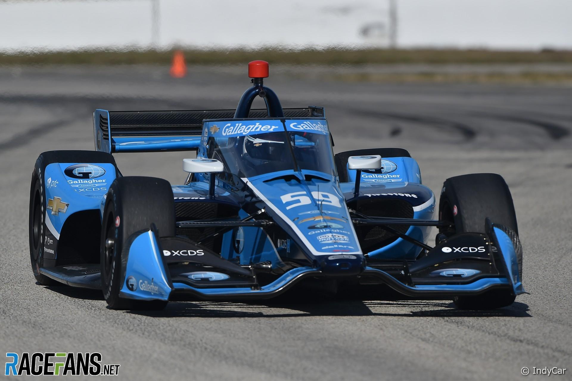 Max Chilton, Carlin, IndyCar, Sebring, 2021
